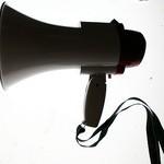 Mégaphone pour le référencement